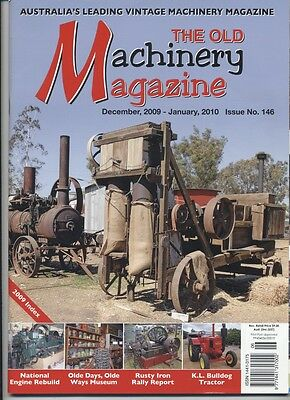 The Old Machinery Magazine TOMM  issue 146 December 2009-January 2010