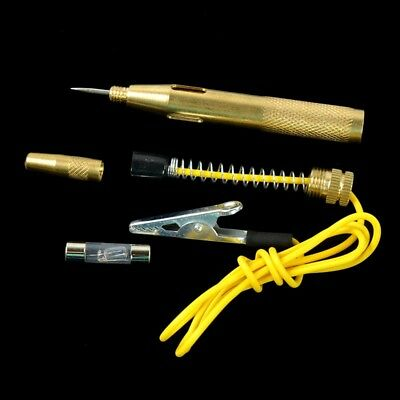 Car Auto Truck Motorcycle Circuit Gauge Voltage Tester Test Pen Tool DC 6V-24V