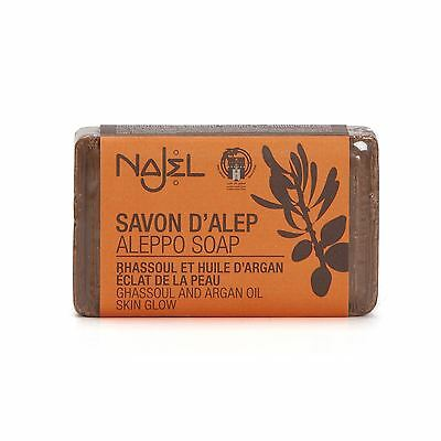 Najel Aleppo Soap Rhassoul and Argan Oil - 100g