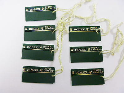 Rolex Watch OYSTER SWIMPRUF GREEN HANG PRICE TAG Modern Type - FREE SHIPPING