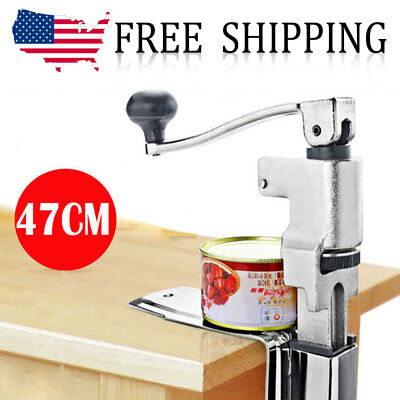 Commercial Kitchen Restaurant Chef Heavy Duty Table Bench Clamp Can Opener S/S