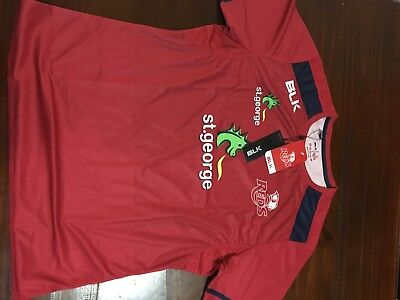 Qld Reds Training Shirt - Rugby Union