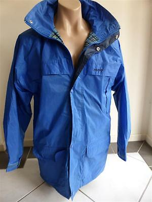 Auth Men's HUSKI EXPLORER Jacket/ Coat* Lined & Hooded* BLUE* Size 97 * Large