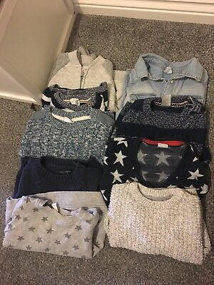18 Month - 24month Boys Jumper Next, H And M Bundle