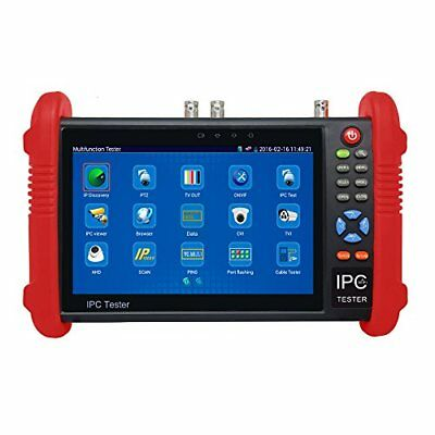 Wsdcam 7 Inch Touch Screen IP Camera Tester CCTV Tester Analog Tester with HD...