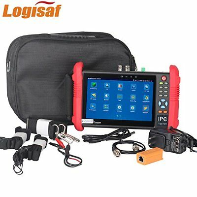 Logisaf 7 Inch CCTV Tester Monitor for Analog and Ip Camera IPS Touch Screen ...