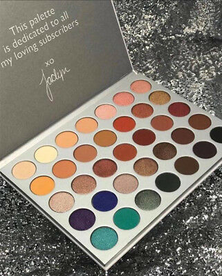 New 2017 Edition Limited 35 Colors Pro Eye Shadow Palette Hill Matte and Shimmer