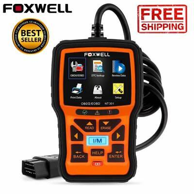 NT301 OBD2 EOBD Car Scanner Diagnostic Fault Code Reader Scan Check Tool Engine