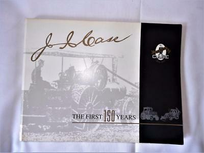 J I  Case The First 150 Years Soft Cover Book