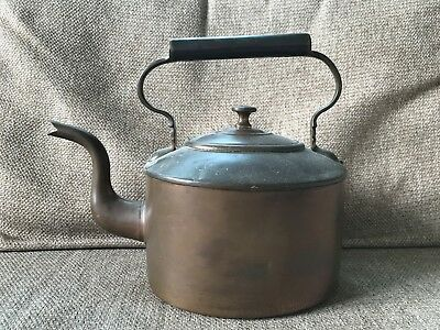 Jones Bros. Antique Large Copper Kettle - Victorian