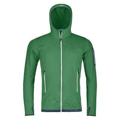 Ortovox Herren Fleece Jacke, Fleecejacke, FLEECE LIGHT HOODY Gr: M grün