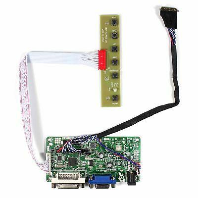 VGA DVI LCD Controller board work for 17.3inch 1920x1080  LCD panel