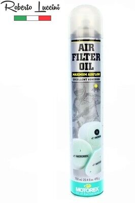 Motorex Air Filter Oil Spray 206 750ml Öl Luftfilter Luftfilteröl 1L - 17,32eur