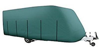 MAYPOLE Breathable Full Caravan cover to fit 6.8m - 7.4m In Green MP9536