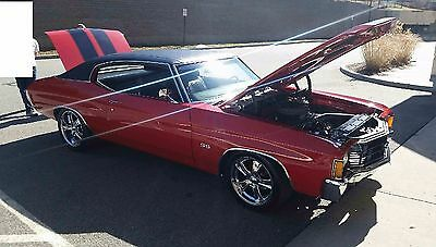 1972 Chevrolet Chevelle 2 DOOR COUPE 1972 Chevy Chevelle SS 454