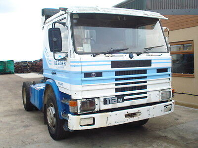 1985 Scania 112M For Restoration Runs and Drives Well