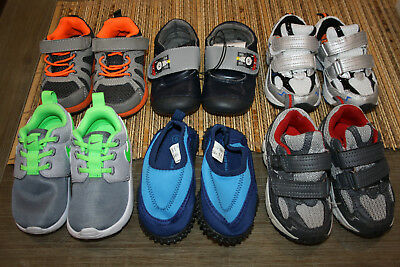 Euc Boys Size 6 Bulk Lot 6 Pairs Shoes Nike Carters Some New Runners Casual
