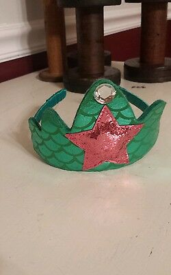 GYMBOREE HALLOWEEN MERMAID TIARA 3 4 5 6 7 8 9 10 free ship