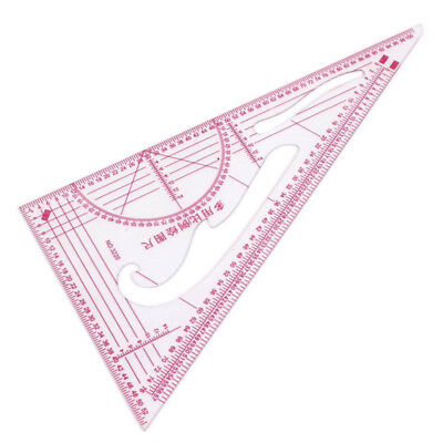 Clothing 1: 3 1: 4 1: 5 Share 90 degrees Triangular scale ruler 2 parts W1F7