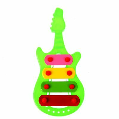 Kid 4-Note Guitar knock piano Musical Toys Serinette X3Q6