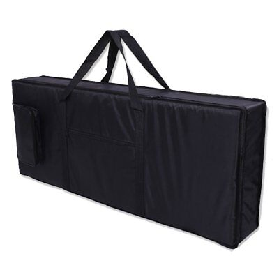 Waterproof 61 keys electronic organ bags 100 x 40 x 15cm black V3F1