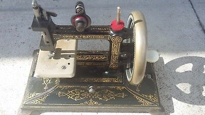 Antique Leigh & Crawford sewing machine