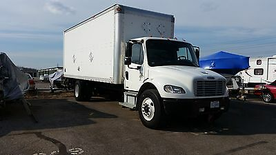 2007 22FT Freightliner M2 BOX TRUCK - 233500 miles - C7 Cat Diesel **RELIABLE**