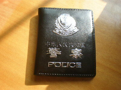 China Police ID Holder wallet with Police Badge,99's series