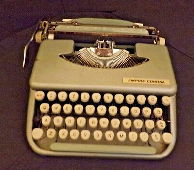 Vintage Empire-Corona Manual Portable Typewriter - 1960´s - Spares And Repairs