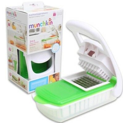 baby food steamer and chopper 2 in 1 munchkin Brand new unopened weaning
