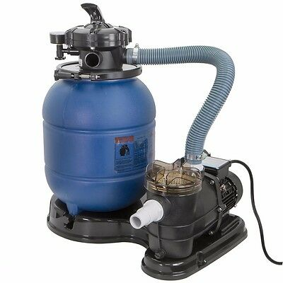 2400GPH Sand Filter 3/4 HP Above Ground Swimming Pool Pump intex compatible a6