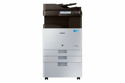 Samsung Multifonction A3 Couleur 22 Ppm + Meuble Support Sl-X3220Nr/see Neuf