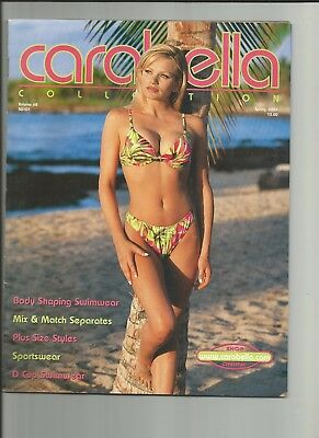 SPRING 2001 vol 68 CARABELLA WOMENS CLOTHING CATALOG lingerie swim suit sexy