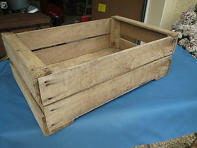 Antique CASH WOOD,CRATE POMMO deco INDUSTRIAL,LOFT,WORKSHOP,VINTAGE
