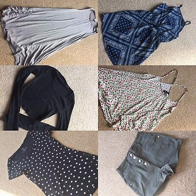 Women's Clothing Bundle Size 8 Tops/Dresses/High Waited Shorts