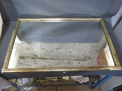 Antique beautiful mirror frame wood golden sheet gold vintage french