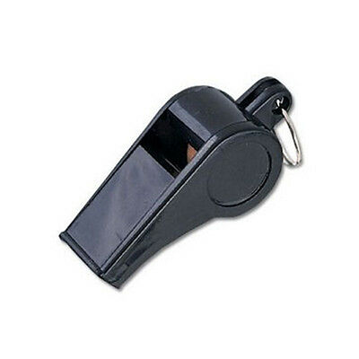 Official Referee Ref Umpire Plastic Whistle Black