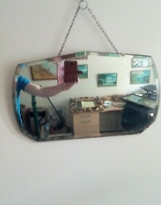 early 20th century hanging wall mirror