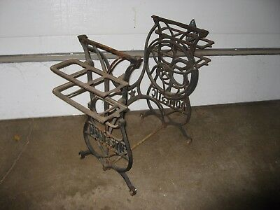 "Antique Treadle Sewing Machine Pat 1876 ""Domestic"""