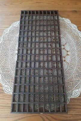 Antique Oak Wood Floor Grate Air Vent Architectural Restoration 30 1/8×12.5