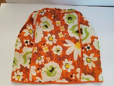 Vintage Flower Power Retro Appliance Cover