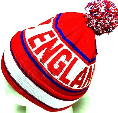 England Bobble Hats Pom Pom Hat Football Gifts