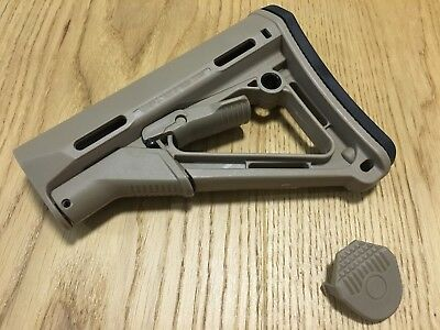 Free Shipping Tan Color CTR Polymer Stock for AEG