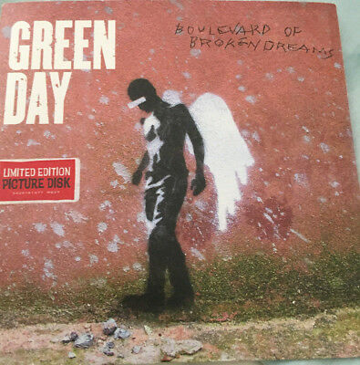 Green Day - Boulevard of Broken Dreams Limited Edition 7-inch Picture Disc