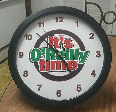 O'Reilly Auto Store It's O'Reilly Time Wall Clock