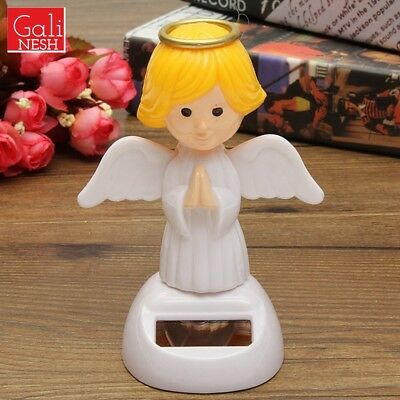Solar Toys Plastic ABS Dancing Fun Angel Flip Flap Powered Toys For Decor