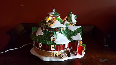 "Department 56 Snow Village ""Happy Holidays Barn"""