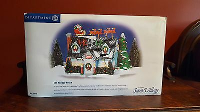 "Department 56 Snow Village ""Holiday House"""