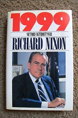RICHARD NIXON 1999 SIGNED Hardcover Book 1988 Pres. Library 1st Ed.