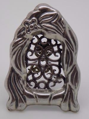 Vintage Solid Silver Mini Frame - Stamped* - Made in Italy